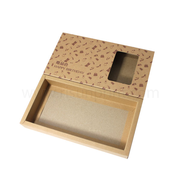 Kraft Drawer Packaging Box