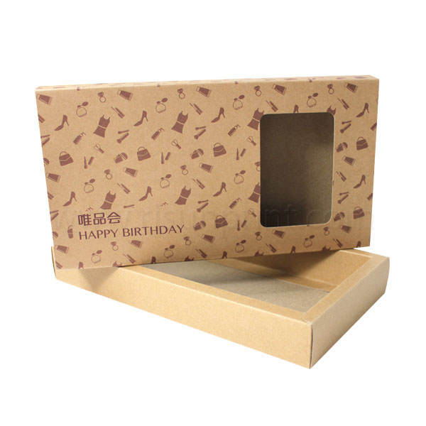 Kraft Paper Drawer Packaging Box