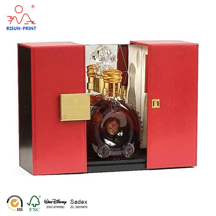customized Louis XIII Cognac wine box