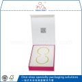 White And Pink Color Paper Type Jewelry Box For Earrings