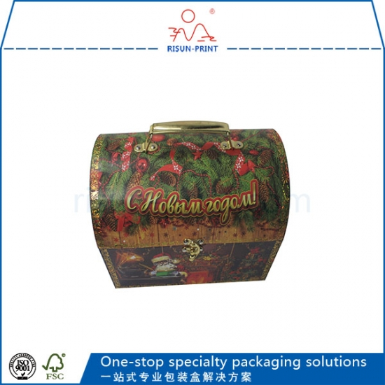 wholesale custom foil stamp paper packaging christmas gift boxes - Christmas Gift Boxes Wholesale