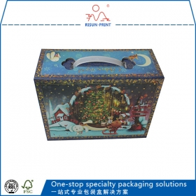 Foldable Santa Boxes