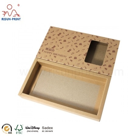 Kraft Paper Packaging Box For Gift
