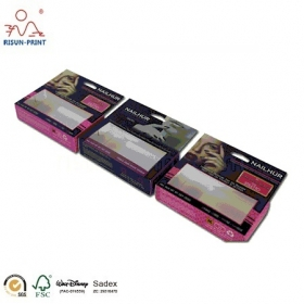 New Desing Paper Packaging Nails Box