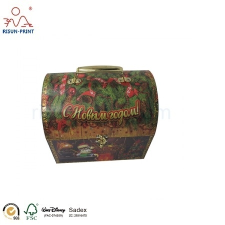 Foil Stamp Paper Gift Boxes