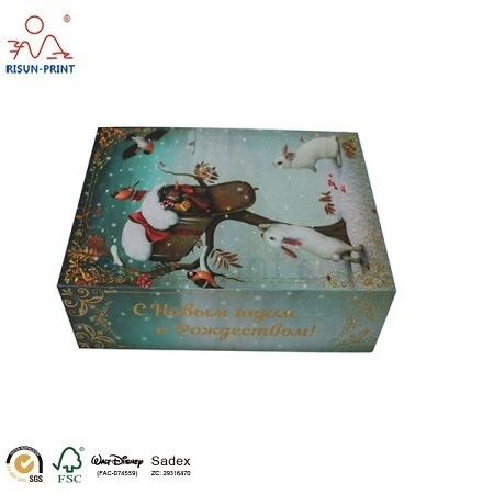 Gold Stamping Paper Gift Box