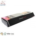 CMYK Printed Paper Packaging Boxes With Glossy Lamination Packaging Wigs