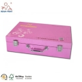 Luxury Packaging Box With Handle And Metal Fittings Cosmetic Packaging Supplies