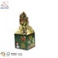 New Design Glossy Die Cut Christmas Paper Box