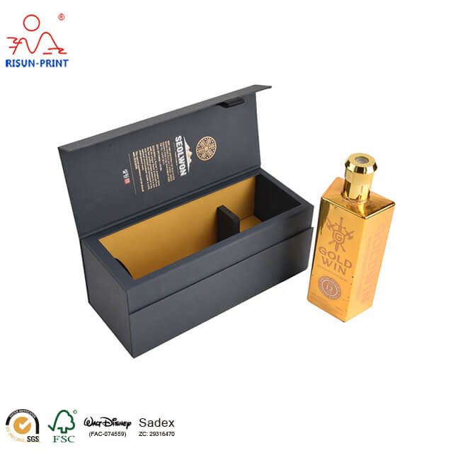 Five rules for customized wine packaging box design