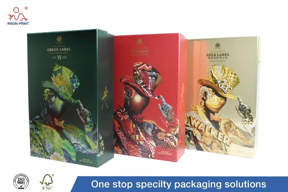 What process is needed for wine box printing and how many days to deliver?
